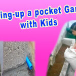 How-to-make-a-pocket-garden-in-a-cemented-floor-outside-your-floor-setting-up-pocket-garden-with-kids-gardening